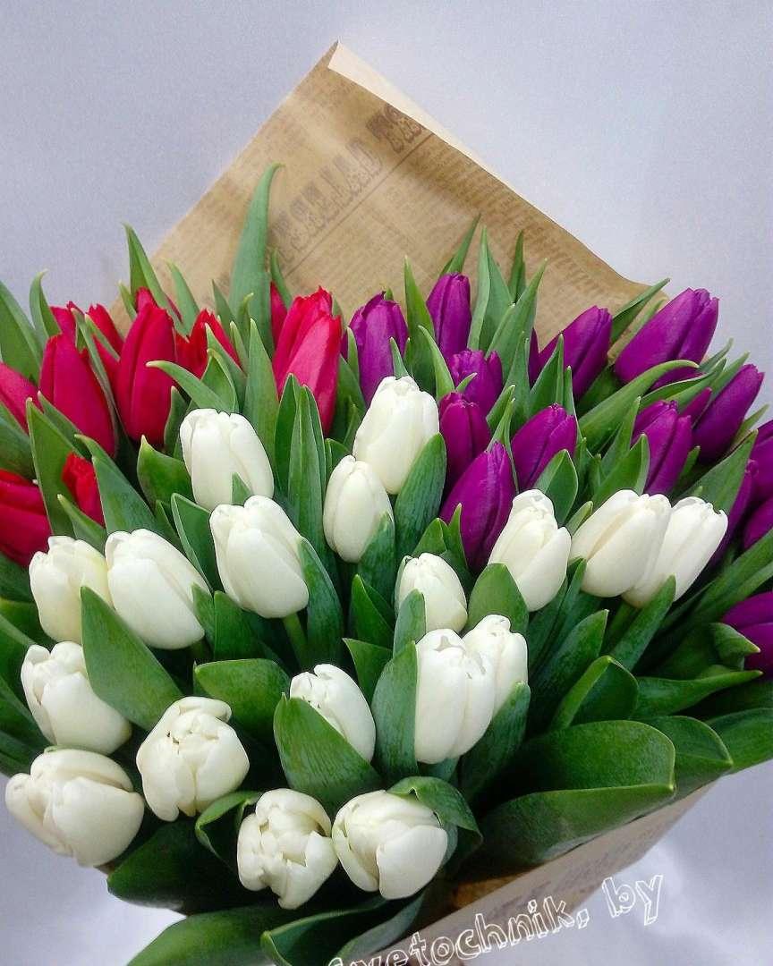 люди, букет тюльпаны фото картинки свежей